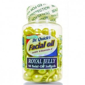 Dr. Quick's Facial Oil Royal Jelly 90 Softgel