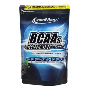 IronMaxx BCAA + Glutamine Powder 550 gr