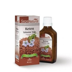 Sepe Natural Keten Tohumu Yağı-Flaxseed Oil 50 ml