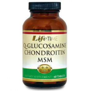 LifeTime Q-Glucosamine Chondroitine Msm 60 Tablet