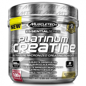 Muscletech Platinum 100% Creatine 400 gr