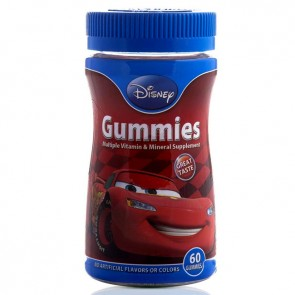 Nature's Bounty Disney Gummies Cars 60 Tablet