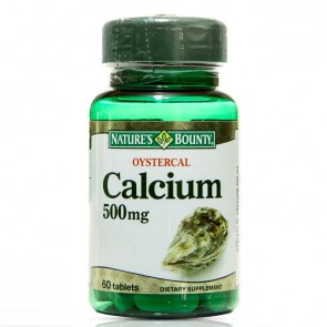 Nature's Bounty Oystercal Calcium 500 mg 60 Tablet