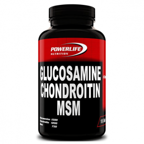 Powerlife  Glucosamine Chondroitin Msm-180 Tablet