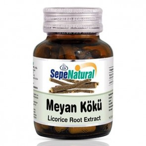 Sepe Natural Meyan Kökü-Licorice Root Extract 330 mg 90 Kapsül