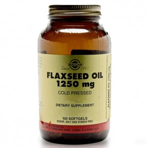 Solgar Flaxseed Oil 1250 mg 100 Kapsül