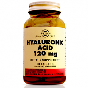 Solgar Hyaluronic Acid 120 mg 30 Tablet