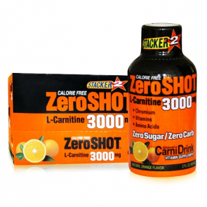 Stacker2 Zero Shot 3000 mg L-Carnitine 60 ml (12 Adet)