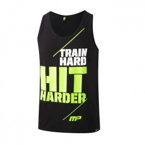 Musclepharm 'Train Hard Hit Harder' Atlet