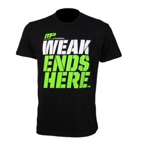 Musclepharm 'Weak Ends Here' T-Shirt